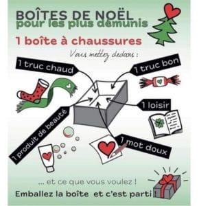 Boite Noel Solidaire